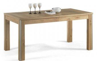 Rozkládací jídelní stůl ESPERO (typ 60) dub sukatý bělený