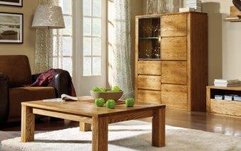 ROLANDO dubový konferenční stolek typ 66 dub jantar