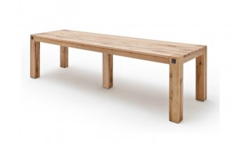 Jídelní stůl z masivu LEEDS dub sukatý