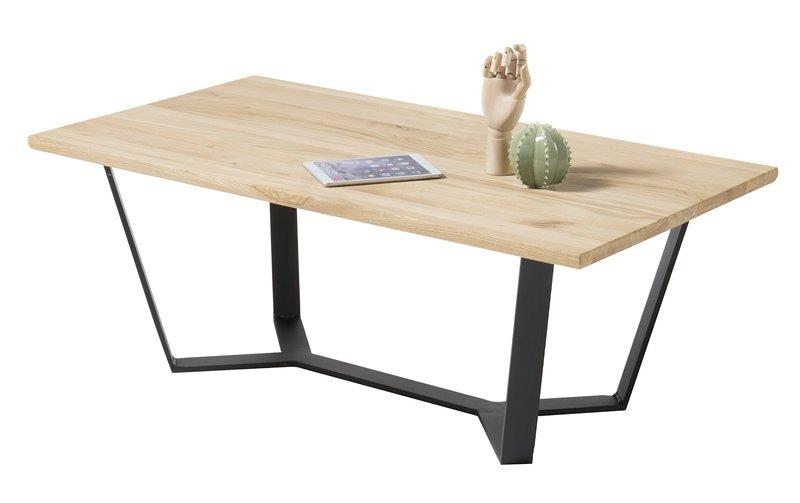 Konferenční stolek z masivu LEAN dub přírodní
