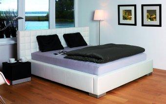 Čalouněná postel s úložným prostorem LIVORNO 140x200