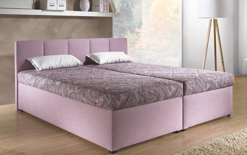 Čalouněná postel s úložným prostorem MAXI XXL