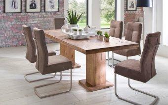 Jídelní set pro 6 osob - stůl MANCHESTER + židle TALENA