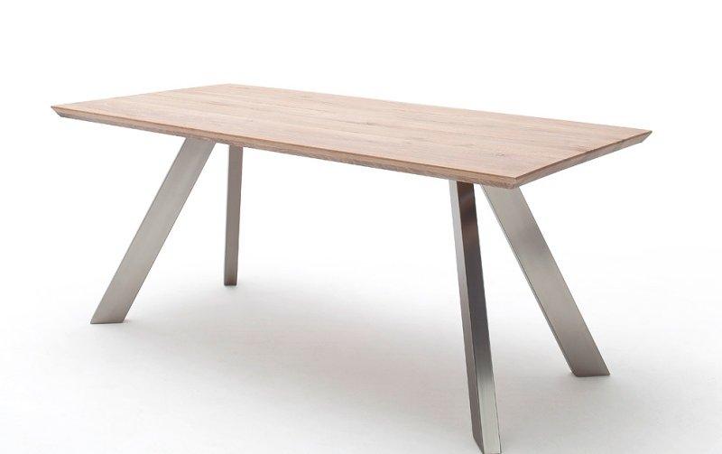 Jídelní stůl MILTON 2 dub bělený