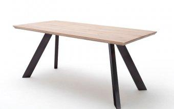 Jídelní stůl MILTON dub bělený