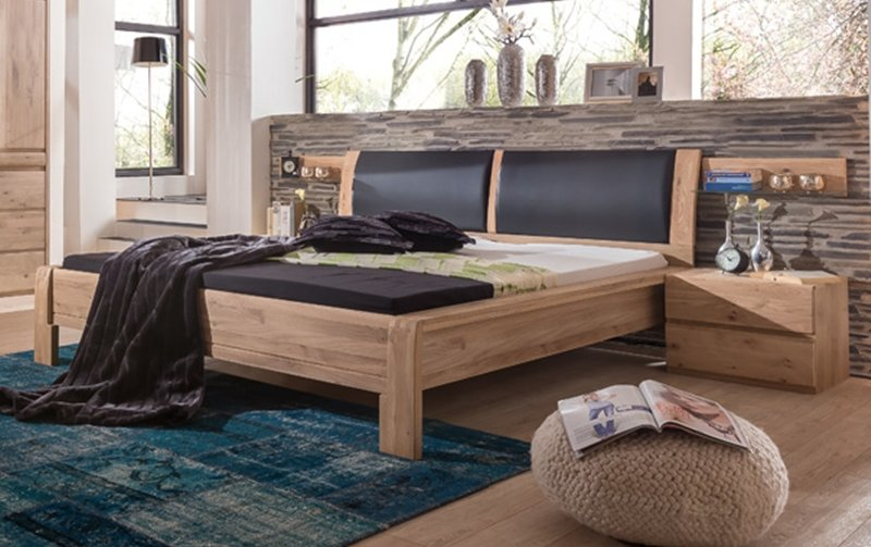 Dubová postel 180x200 OTAVA
