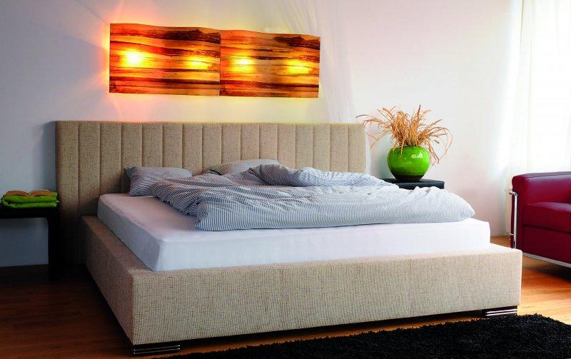 Čalouněná postel s úložným prostorem PALERMO 140x200