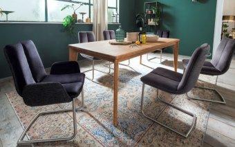 Jídelní set pro 6 osob - stůl PIETRO 1+ židle GRIGOR