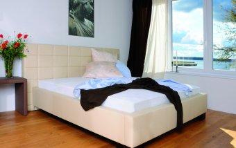 Čalouněná postel s úložným prostorem ROMA 180x200