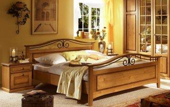 Postel postel z masivu SAN 69 borovice medová