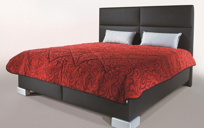 Čalouněná postel s úložným prostorem SENTI 160x200
