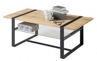 Konferenční stolek z masivu TIZIAN dub přírodní