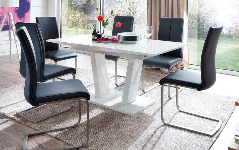 Jídelní set pro 6 osob - stůl TIRSO + židle PAULO