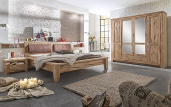 Dubová ložnice z masivu TORONTO