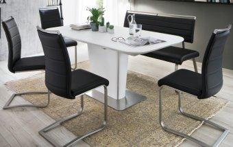 Jídelní set pro 6 osob - stůl UBORA + židle PESCARA