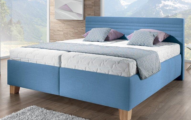 Čalouněná postel s úložným prostorem VITA 160x200