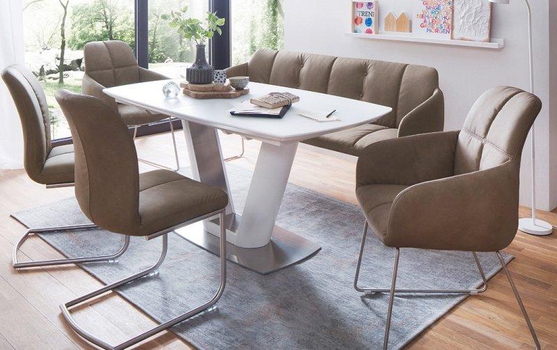 Jídelní set pro 6 osob - stůl VANITA+ židle TESSERA