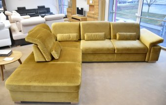 VÝPRODEJ: Rohová sedací s posuvnými opěrkami SAN MARINO