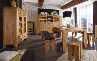 Dubový nábytek z masivu do jídelny LOFT 2