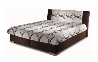Čalouněná postel s úložným prostorem ADELE 160x200