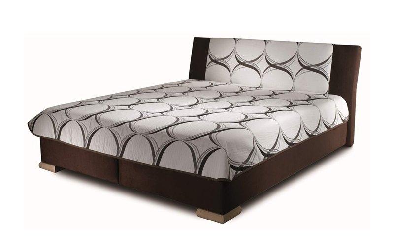 Čalouněná postel s úložným prostorem ADELE 180x200