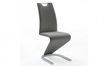 Moderní jídelní židle AMADO ekokůže šedá