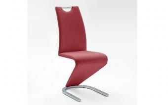 Moderní jídelní židle AMADO ekokůže bordo