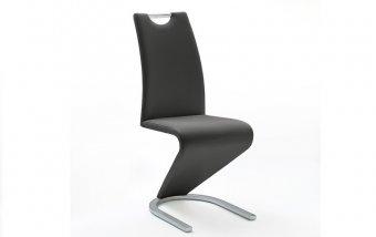 Moderní jídelní židle AMADO ekokůže černá