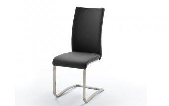 Židle jídelní ARCO ekokůže černá