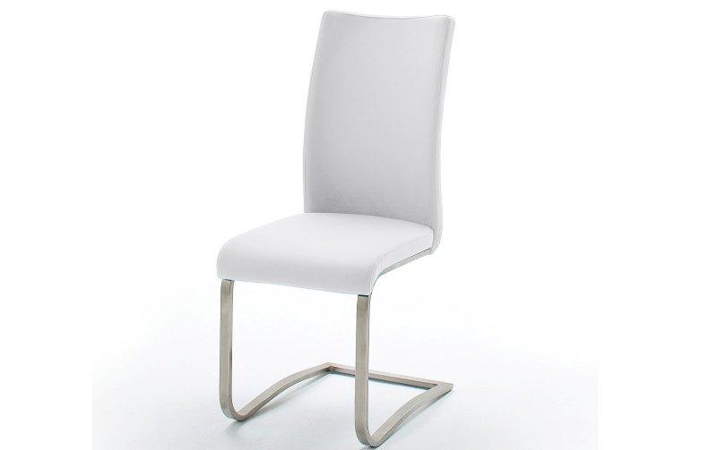Židle jídelní ARCO ekokůže bílá
