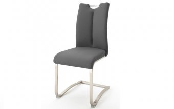 Židle jídelní ARTOS ekokůže šedá