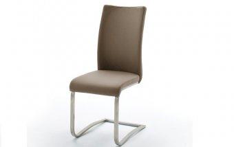 Židle jídelní ARCO ekokůže cappuccino