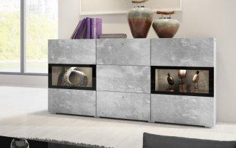 Komoda BAROS dekor beton