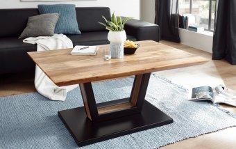 Konferenční stolek z masivu BEDFORD akátové dřevo