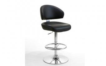 Velká barová otočná židle BIG ekokůže