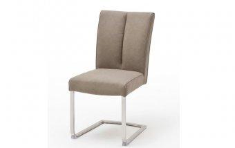 Židle jídelní BRASILIA B ekokůže taupe