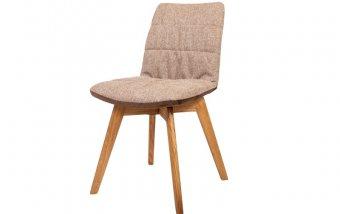 Jídelní židle BRUNO klasik s dubovou podnoží