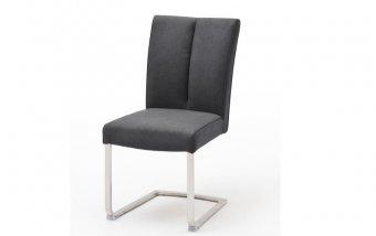 Židle jídelní BRASILIA B ekokůže antracit