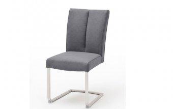 Židle jídelní BRASILIA B ekokůže šedomodrá