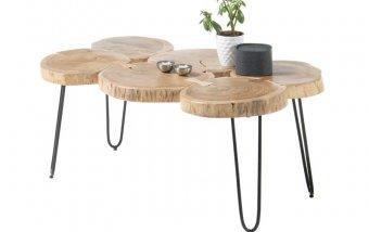 Konferenční stolek z masivu COLE akát