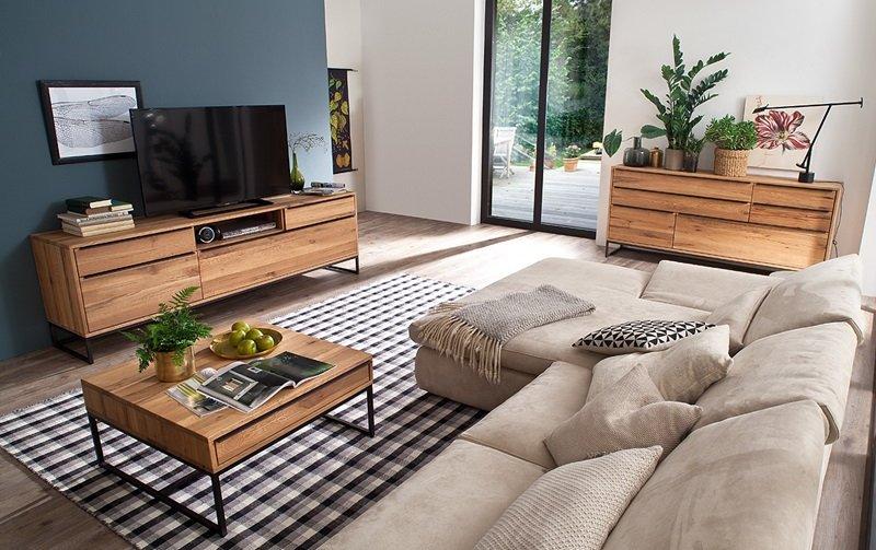 Nábytek do obývacího pokoje DAKAR I dub divoký