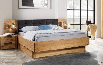 Dubová postel DENVER dub přírodní