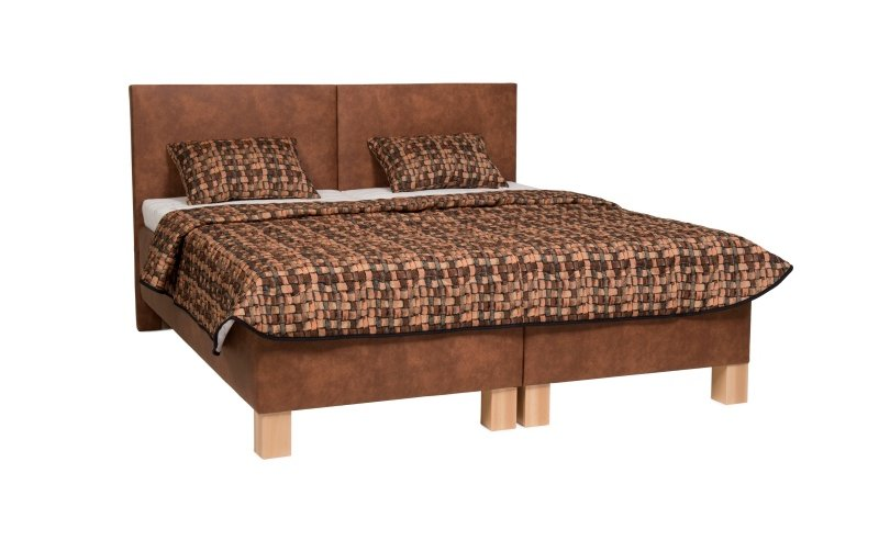 Čalouněná postel s úložným prostorem DUOBED - Pohoda 160x200