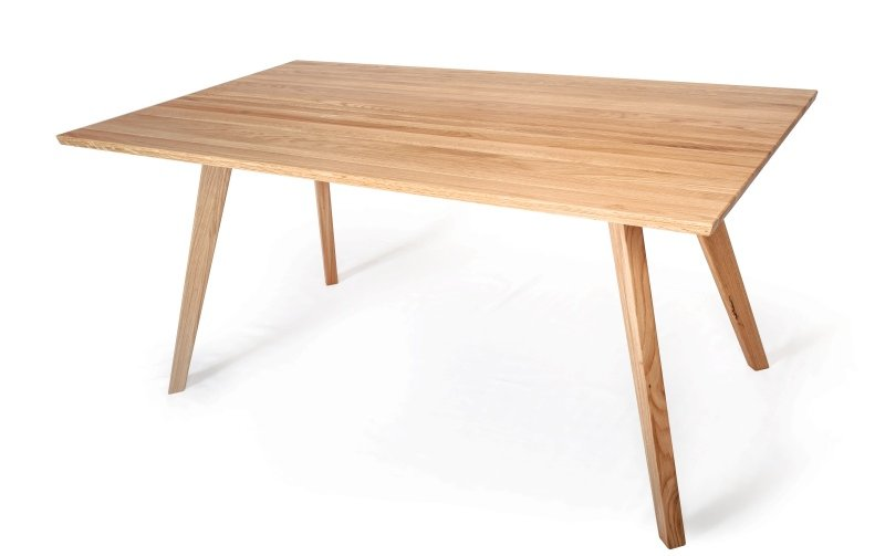 Jídelní stůl z masivu DUBLIN dub rustik