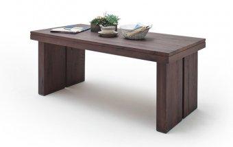 VÝPRODEJ: Jídelní stůl z masivu DUBLIN dub zastaralý
