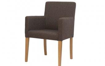 Čalouněné židle s područkami RICO