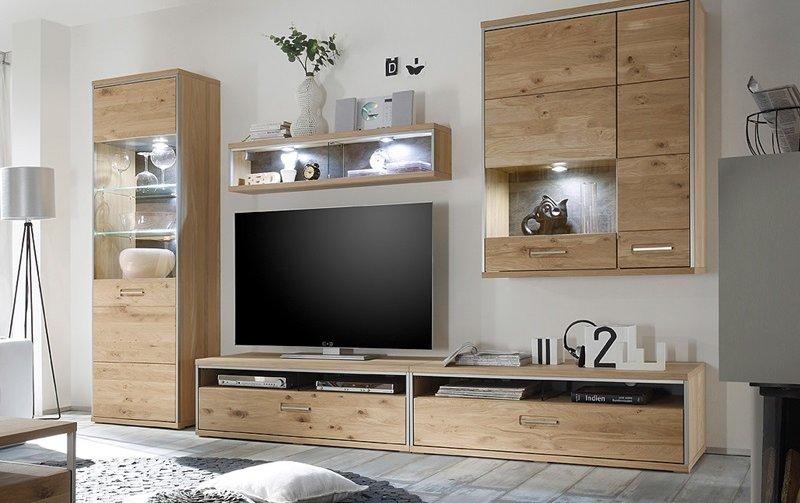 Nábytek do obývacího pokoje ESPERO II dub sukatý bělený