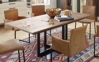 Luxusní jídelní stůl rozkládací ET530
