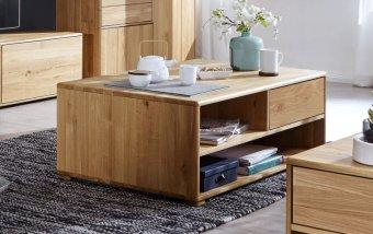 Konferenční stolek z masivu II VIVIAN dub divoký olejovaný