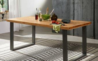 Jídelní stůl z dubového masivu VISBY